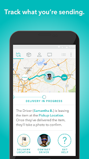 Roadie: On-The-Way Delivery Screenshot 4