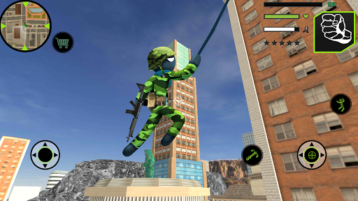 us army stickman rope hero mafia 2 1.0 screenshots 4