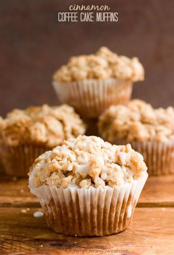 Cinnamon Coffee Cake Muffins Recipe Card