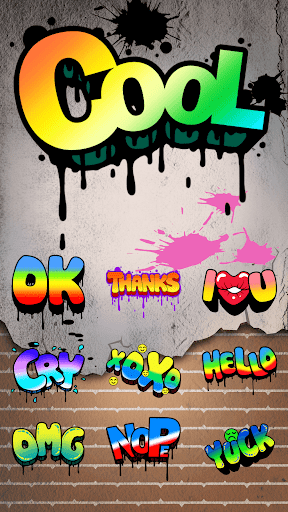 Cool Sticker With Graffiti Style v1.0 screenshots 2