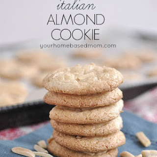 Italian Almond Cookies Recipe