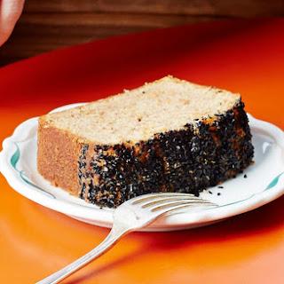 Black Sesame Carrot Cake.
