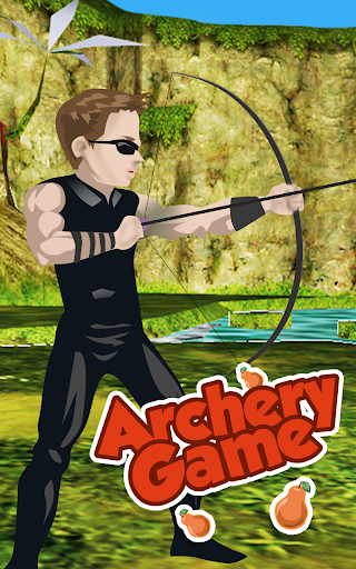 Archery with apples