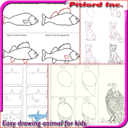 Download Download Easy Drawing Animal for Kids Free for android