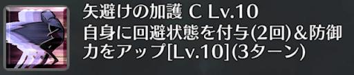 矢避けの加護[C]