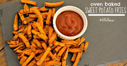 Oven Baked Sweet Potato Fries {vegan, paleo, gluten free}