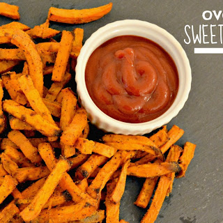 Oven Baked Sweet Potato Fries {vegan, paleo, gluten free}.
