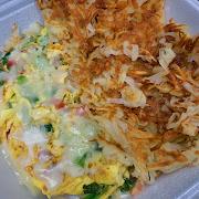 Three Egg Omelets -  Veggie