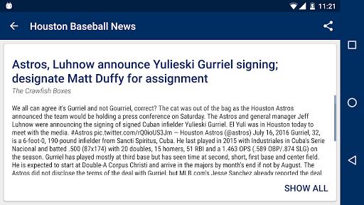 免費下載運動APP|Houston Baseball News app開箱文|APP開箱王