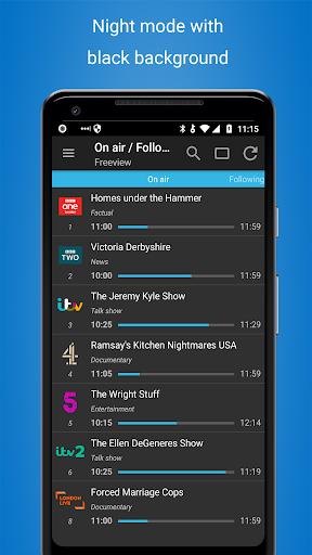 TV Guide UK free 1.10.17 screenshots 4