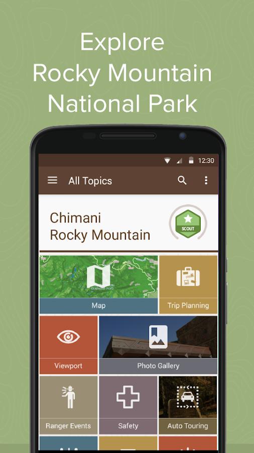 Chimani Rocky Mountain NP - screenshot