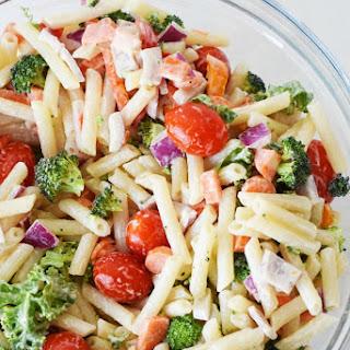 Vegetable Quinoa Pasta Salad.