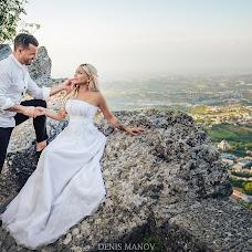 Wedding photographer Denis Manov (DenisManov). Photo of 22.08.2018