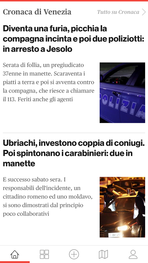 VeneziaToday- screenshot
