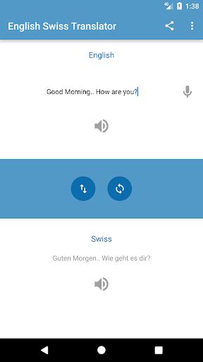 English Swiss Translator ApkUpdate 1