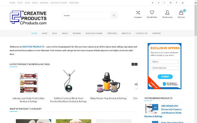 Creative Products for Chrome