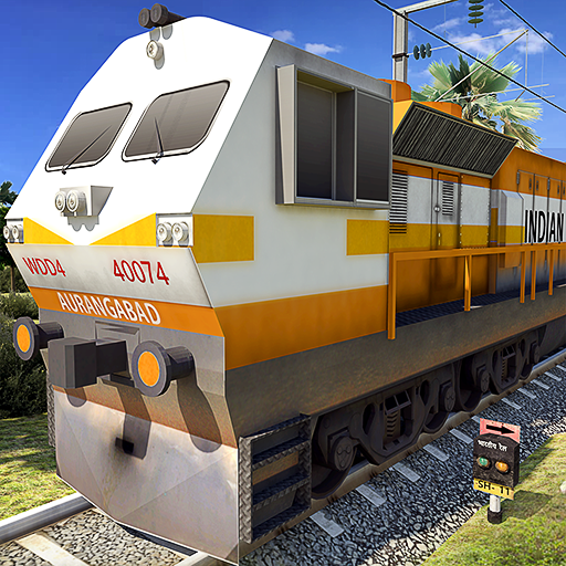 Indian Train Driving 2019 Icon