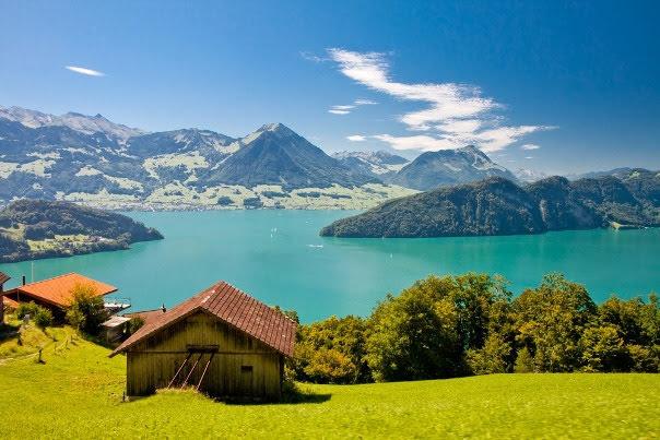 Lake Lucerne; Uri, Schwyz, Unterwalden & Lucerne