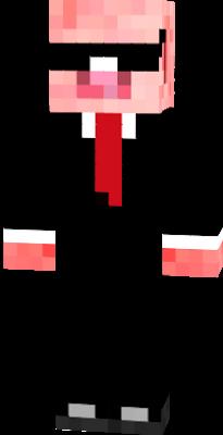 pig minecraft skin nova