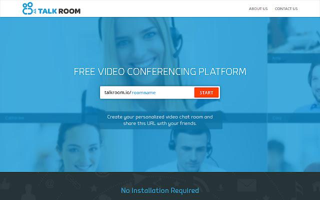 talkroom screen sharing
