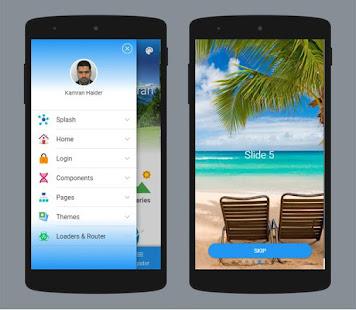 Kamran AppKit on Framework7 for Cordova & PhoneGap – Apps no Google Play