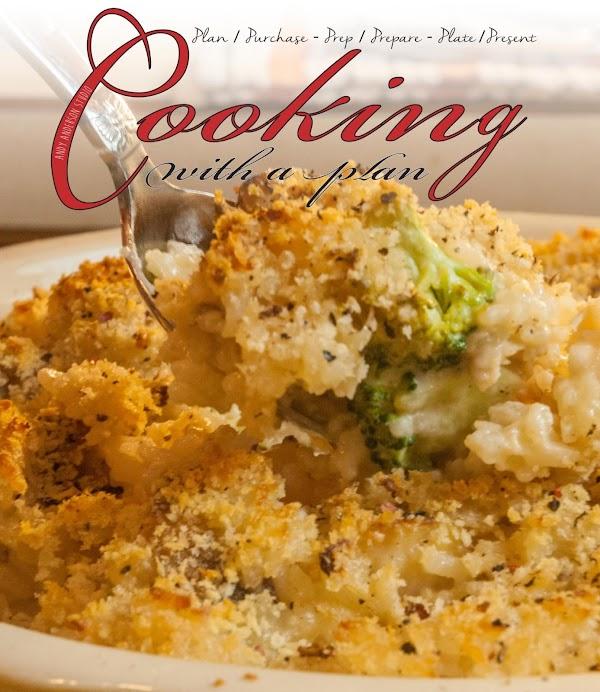 Chicken/rice/broccoli Casserole In Alfredo Sauce Recipe