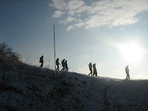 Photo: Nuo kalno paskui saulę...