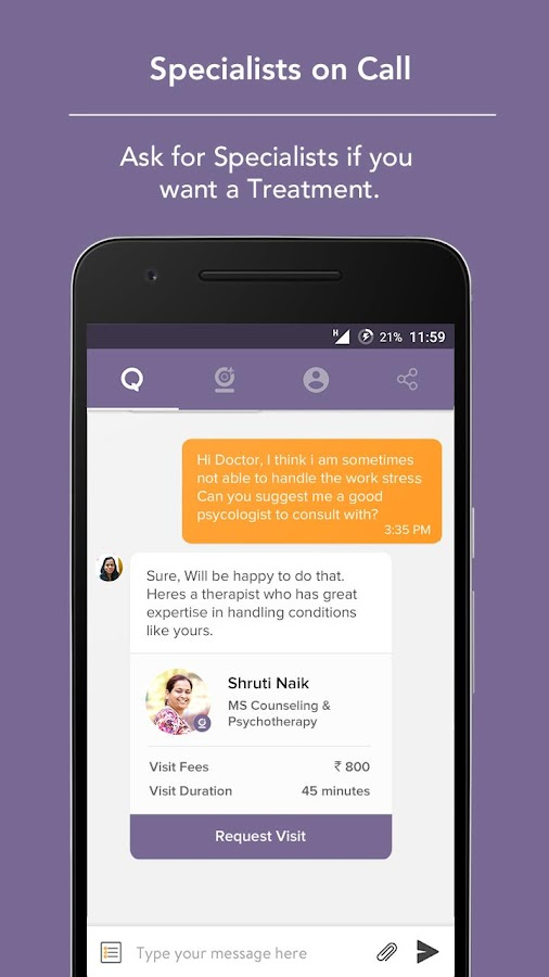 Visit-Free Chat with a Doctor - Android Apps on Google Play