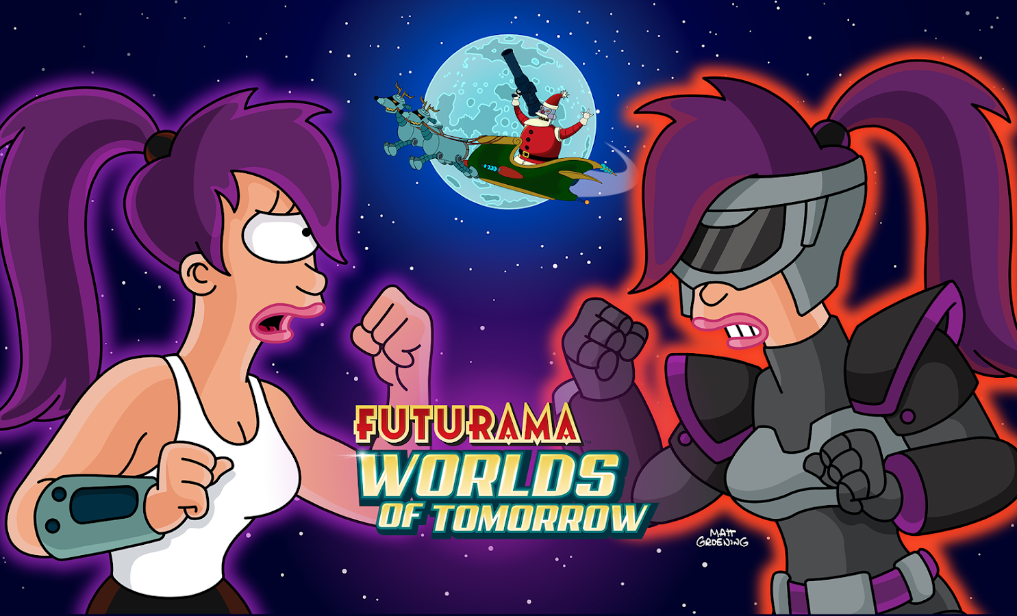 Futurama: Worlds of Tomorrow- screenshot