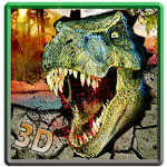 Angry Dinosaur City Attack 3D Icon