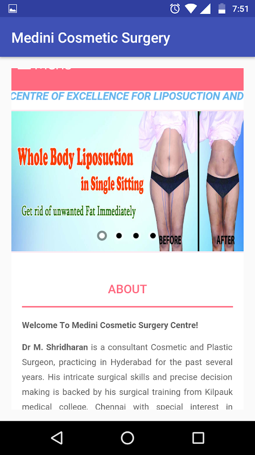 Medini Cosmetic Surgery- screenshot