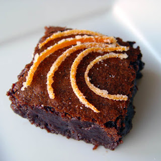 Zesty Orange Brownies