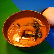 Orange Curry of Ontario Squash w/Tofu (VEGAN)