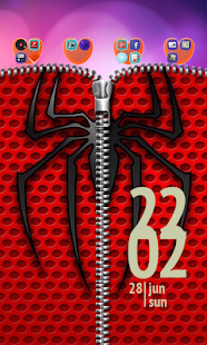 Lastest Spider Zipper Lock Screen APK for Android
