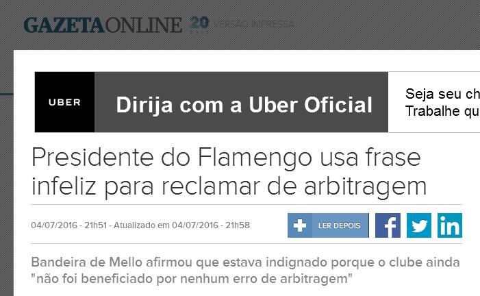 Chororô do Flamengo