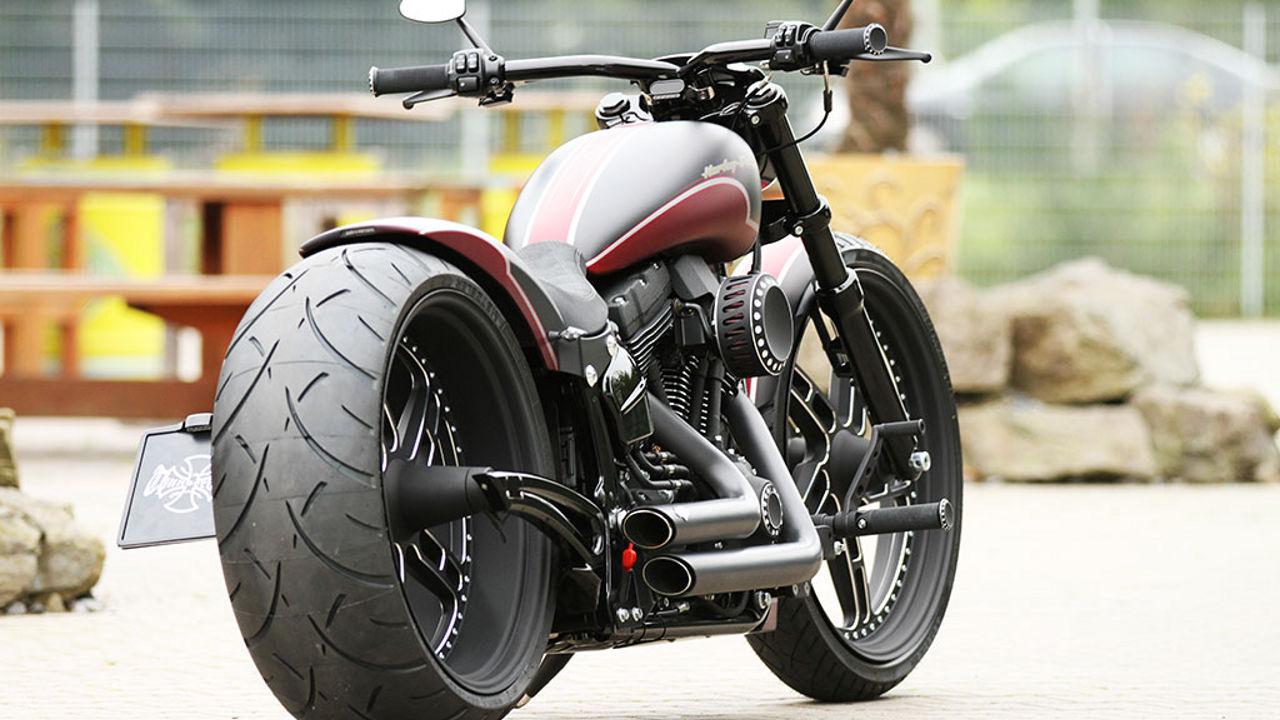Harley Davidson Softail ME 888 by Thunderbike