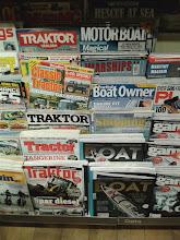 Photo: Zájmové časopisy v Norsku I