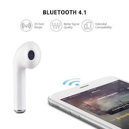 Mini Casca Bluetooth i7 cu design minimalist