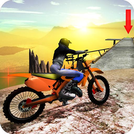 Bike Rider Hill Stunts Icon