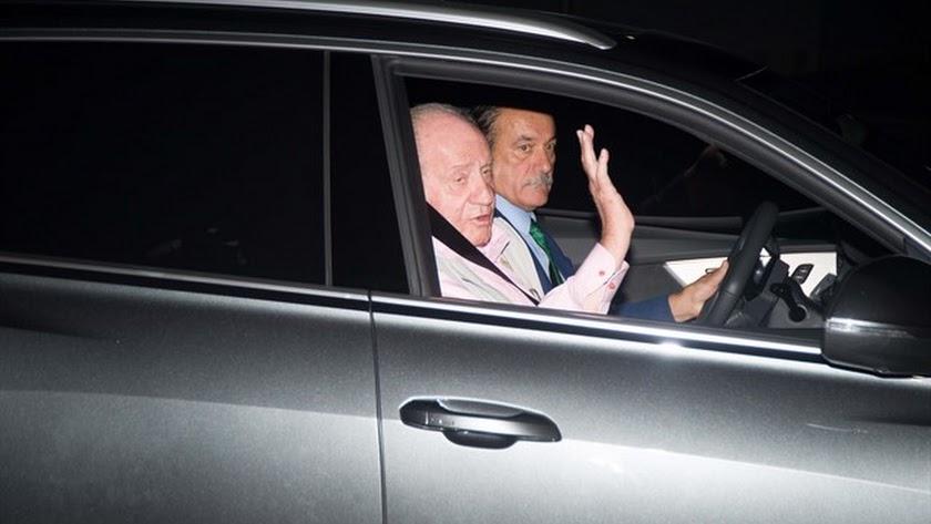 El Rey Juan Carlos llega a la Clínica Quirón de Pozuelo (Madrid) para ser operado del corazón - Ángel Díaz Briñas/ EUROPA PRESS