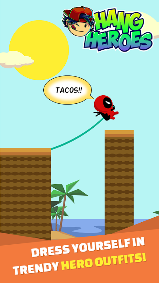 HANG HERO SWING ROPE ADVENTURE- screenshot