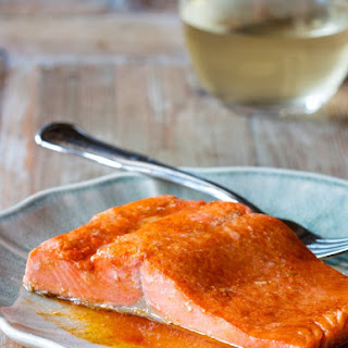 Simple Microwave Salmon.