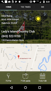 Lady's Island Golf Tee Times- screenshot thumbnail