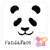 Cute wallpaper-Panda Face-