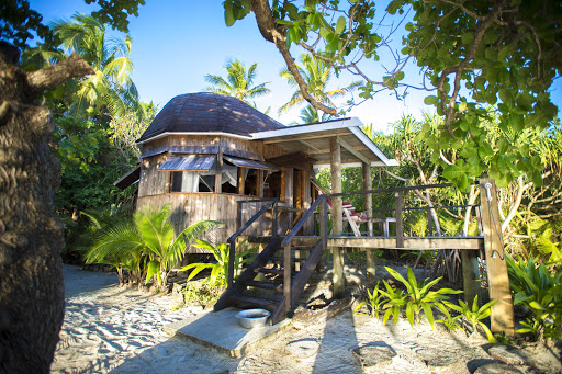 Tonga-island-retreat.jpg - Relax on Tonga in huts that blend with the jungle terrain.