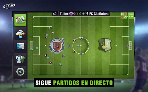 Top Eleven Mánager de Fútbol Screenshot