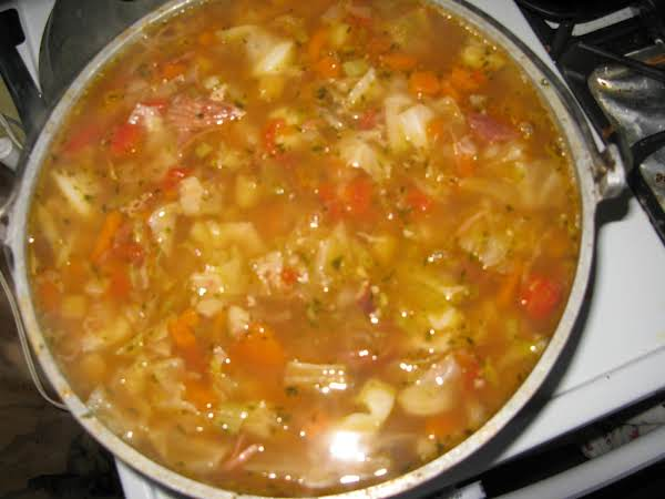 Cathy's Ham Bone Soup Recipe
