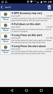 Alert SacRT- screenshot thumbnail