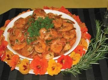 Garlic Sherried Shrimp
