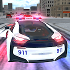 American i8 Police Car Game 3D